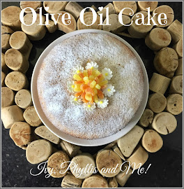 DAPHNE'S OLIVE OIL AND LEMON CAKE