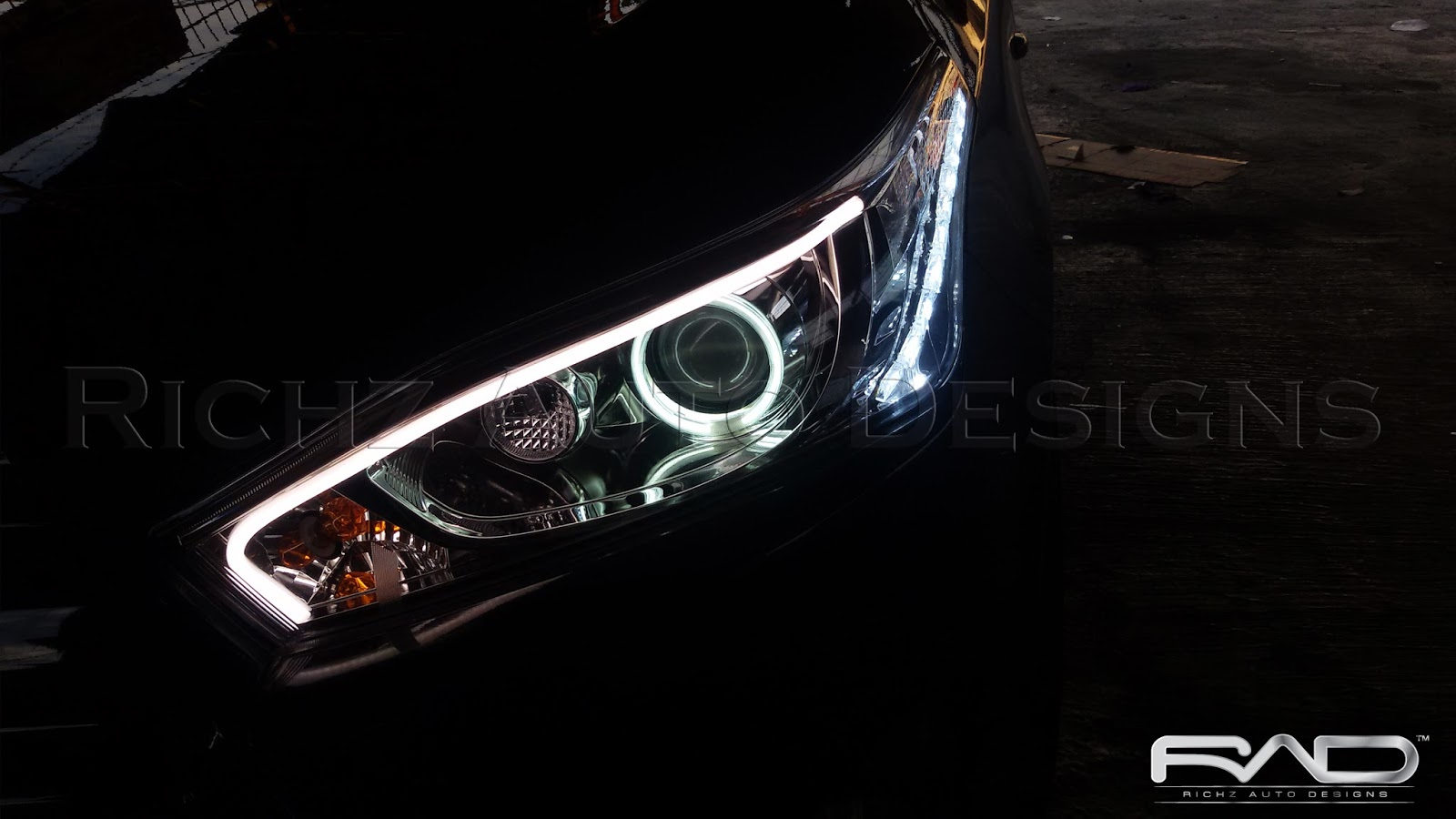 Angel eyes headlamp-3164