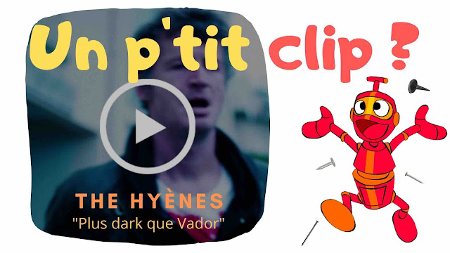 Le clip de The Hyènes : plus dark que Vador.