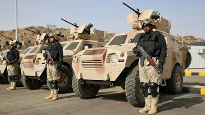 Ratusan Kendaraan Tempur Saudi Telah Bersiap di Perbatasan Suriah