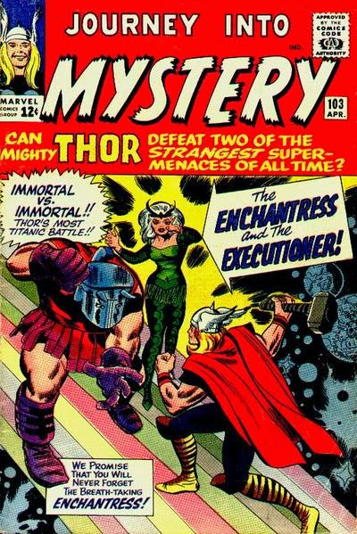 Journey into Mystery #103, Thor vs the Executioner and Enchantress