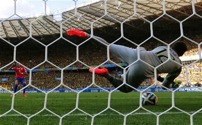 brazil vs chile world cup 2014 penalty shoot out