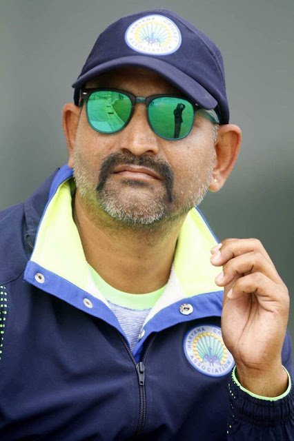 Former Ranji cricketer Pankaj Thakur became coach of Faridabad under-16 women's cricket team