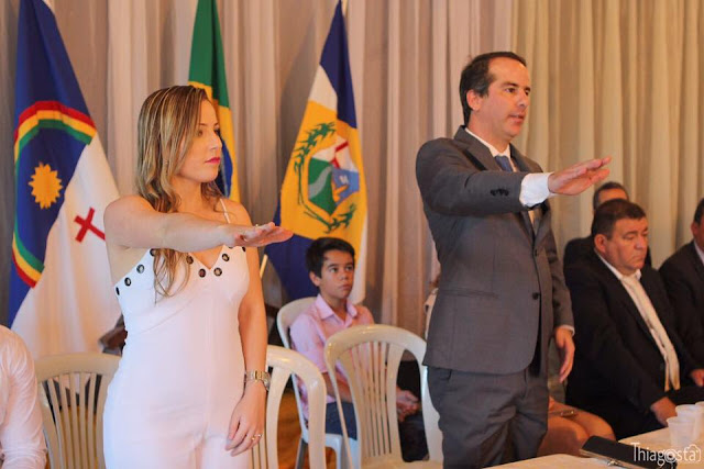 Marcello Maranhão toma posse como prefeito de Ribeirão
