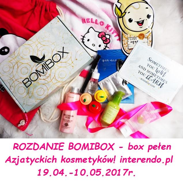 ROZDANIE BOMIBOX - box pełen Azjatyckich kosmetyków! 19.04.-10.05.2017r.