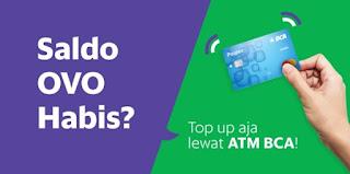 Cara Top Up Saldo OVO Melalui ATM BCA