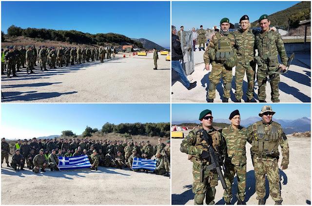 Σε άσκηση του Τάγματος Εθνοφυλακής Ηγουμενίτσας ο αρχηγός του Γενικού Επιτελείου Στρατού