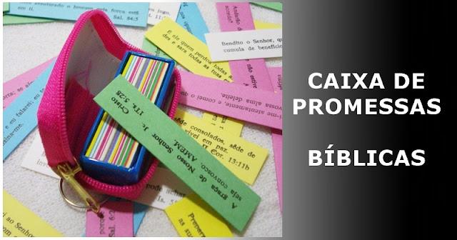 Caixa de promessas biblicas