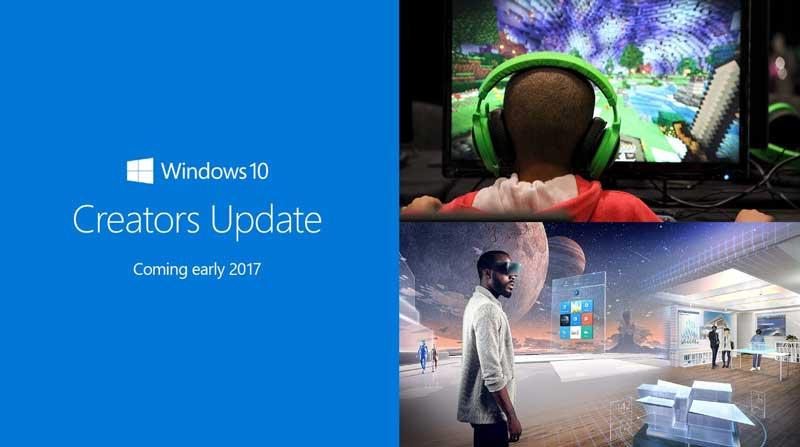 actualización de Windows 10 Creators Update imagen de promoción