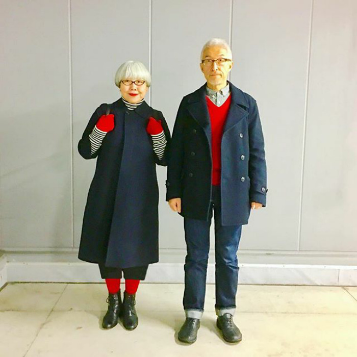 #2 - This Couple Married For 37 Years Always Dress In Matching Outfits