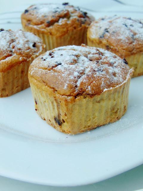 Muffiny kawowe z gruszką