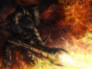 iron man flamethrower tiberium sun command and conquer