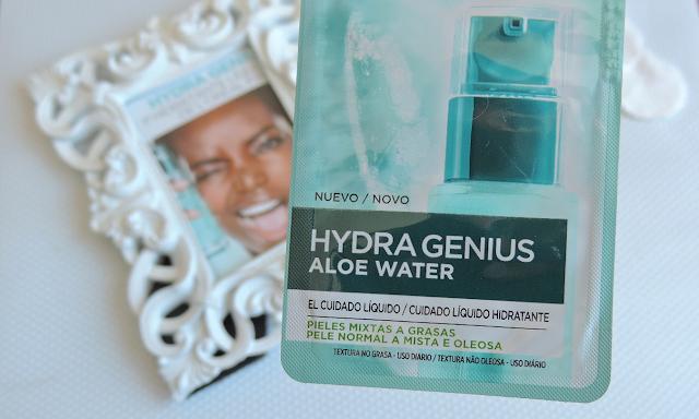Resenha de Hydra Genius Água de Aloe Vera