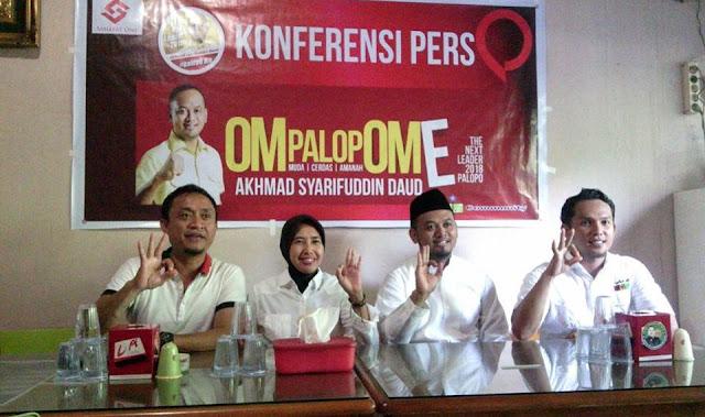 Biar Kekinian, Ome Usung Istilah 'Om Palopo OmE'