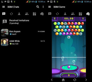 BBM Mod Black hell Apk with Bubble Shooter Game v3.1.0.13