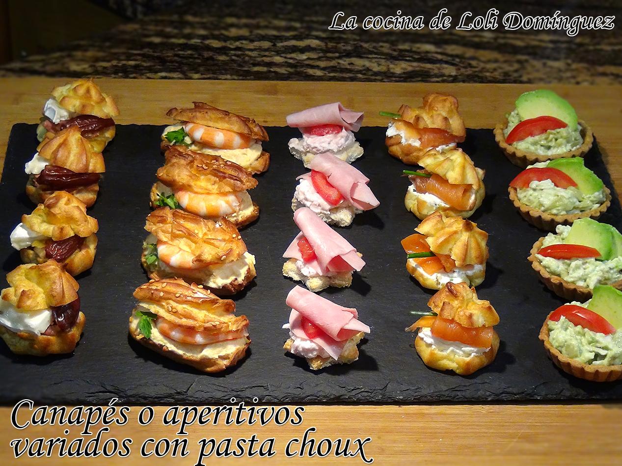 La cocina de loli dom nguez canap s o aperitivos variados for Canapes y aperitivos