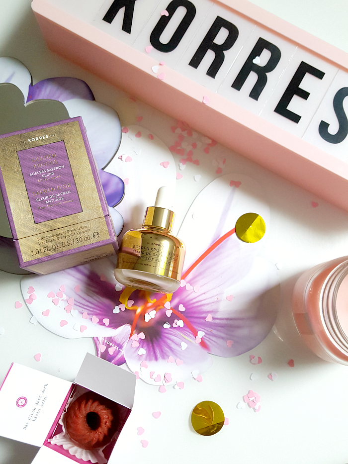 Giveaway: 5 Jahre Madame Keke - KORRES Golden Krocus Ageless Saffron Elixir - Gewinnspiel Madame Keke The Luxury Beauty and Lifestyle Blog