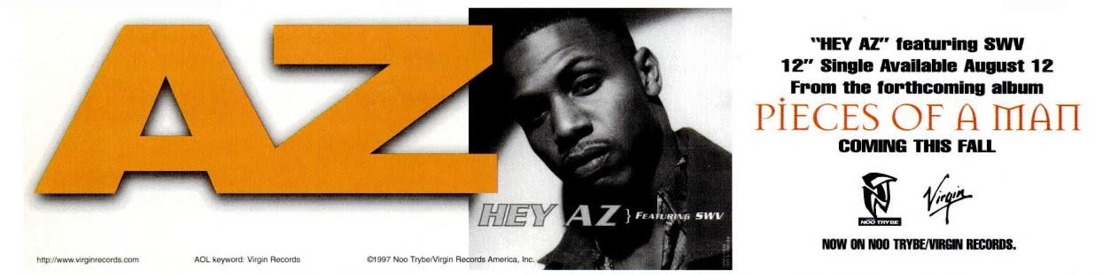 AZ Pieces of a Man Hey AZ SWV Advertisement