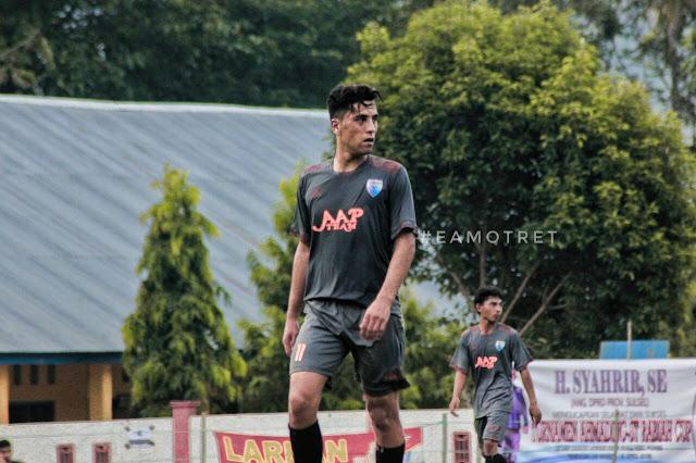 Turnamen Sepak Bola Ahamding ST Rabiah Dihadiri Pemain Asing