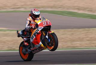 Marquez Juara MotoGP Aragon Spanyol, Rossi Ketiga