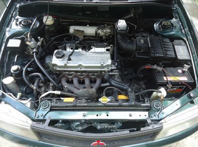 Foto Mesin Mitsubishi Lancer Evo 4 CK4