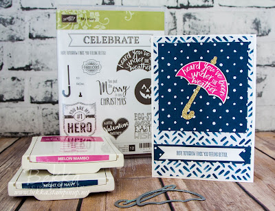 My Hero Get Well Soon Card - Charity Donation when you buy these Stampin' Up! UK Stamps here