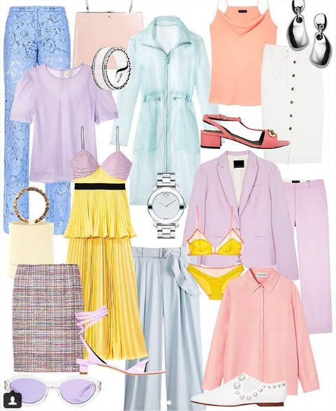 Blog Achados de Moda, Carmen Martins consultora de estilo e moda, tendências cores pastel