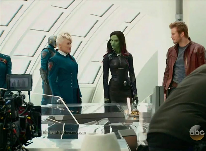 "Glenn Close en ""Guardianes de la Galaxia"""