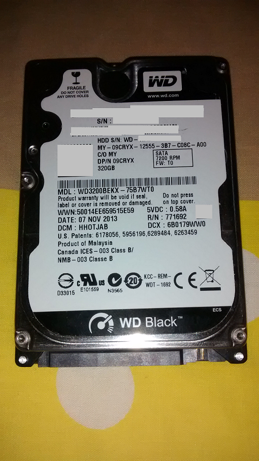Upgrading HDD 60GB to 320GB Xbox 360 Phat: DIY : Guide to