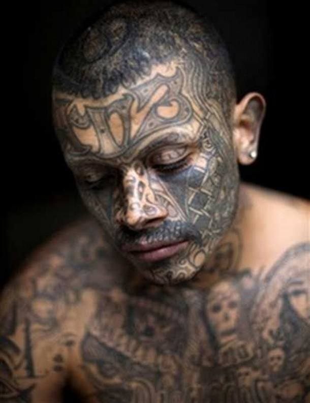 60+ Best Mexican Mafia Tattoos for Men (2019) Prison Gang
