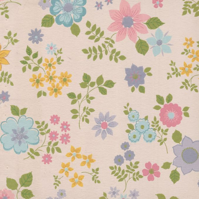 Floral Wallpaper...Vintage Floral Background Pattern Tumblr