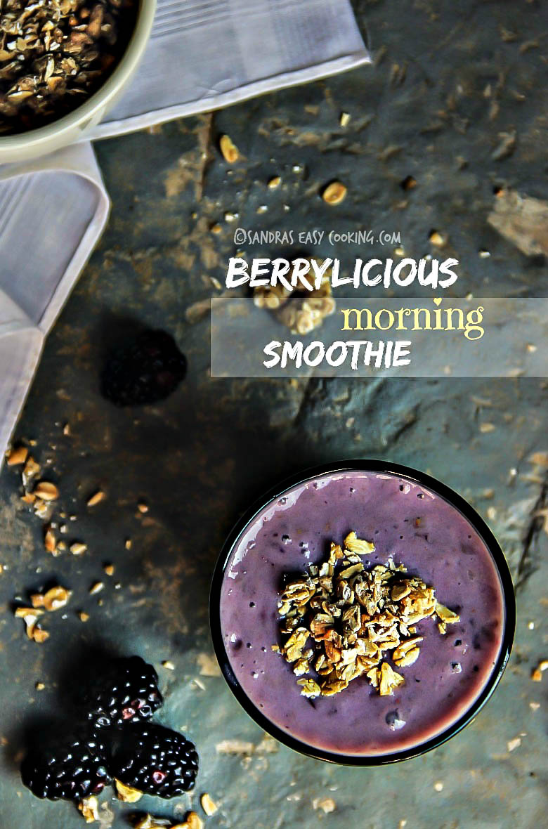 Berrylicious Smoothie #recipes #homemade #foodie