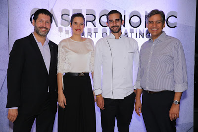 Alejandro Larrondo, Melissa Martínez, Carlos Sebastiani y Juan Vicens