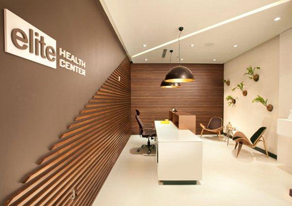 25 luxury interior design ideas for office cabin for Interior wall design for office
