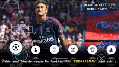 Download PES Jogress Evolution 2018 ISO/CSO PPSSPP Update Patch Transfer Terbaru
