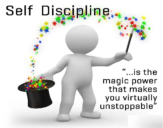 Discipline....A game of energies