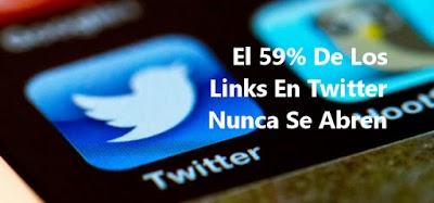 El 59% De Los Links En Twitter Nunca Se Abren