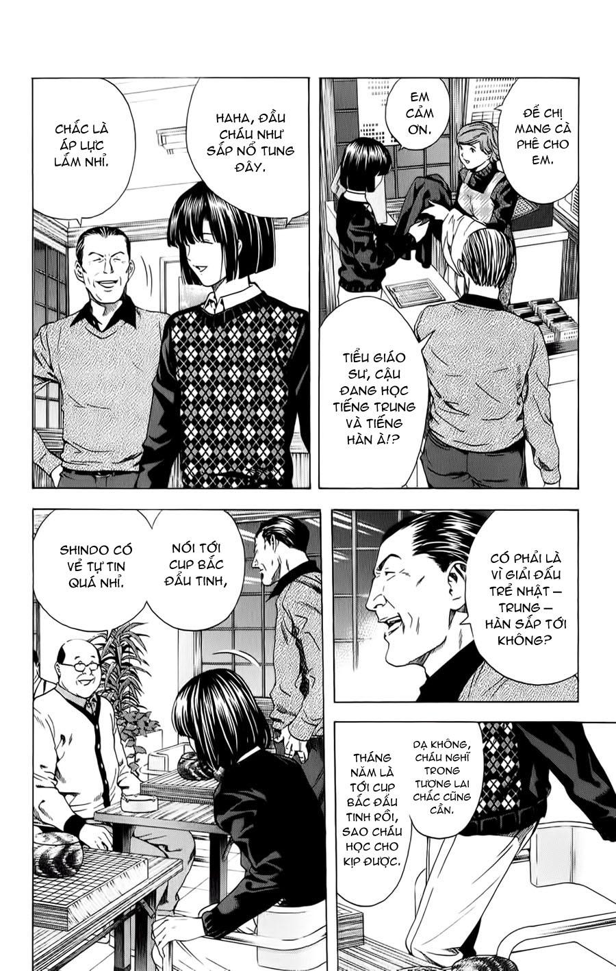 Hikaru No Go hikaru no go chap 152 trang 6