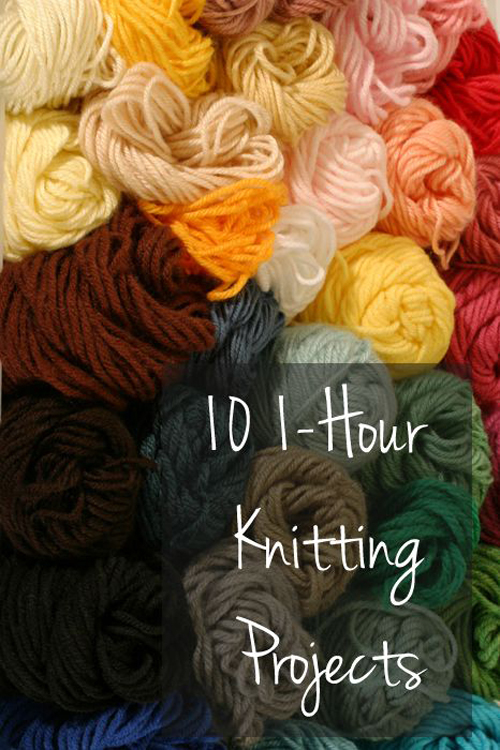 Knitting Projects - Tutorials