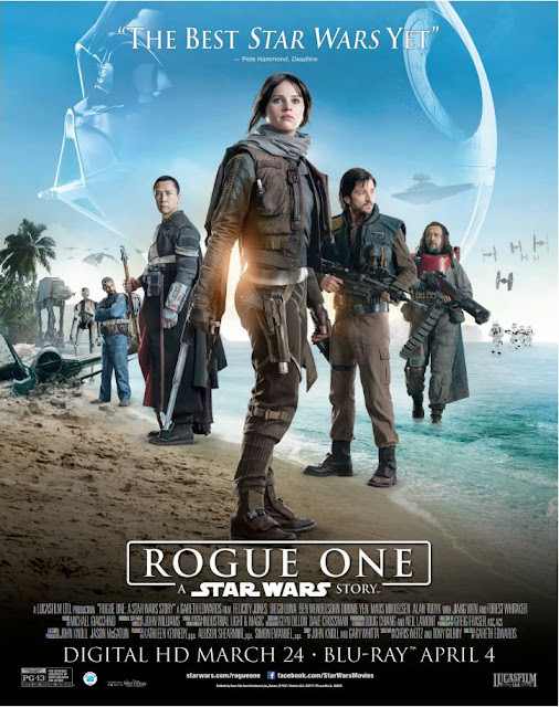 Rogue One: A Star Wars Story Digital HD Giveaway #RogueOne