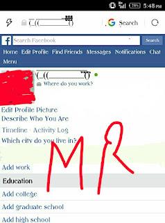 Cigrate Name Facebook Account