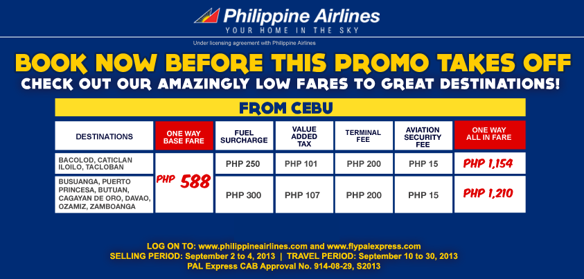 Philippine Airlines Promo Code