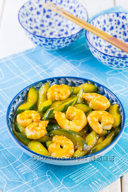 韓國辣椒醬炒青瓜蝦仁 Stir-Fried Prawns and Cucumber with Korean  Chilli Paste02