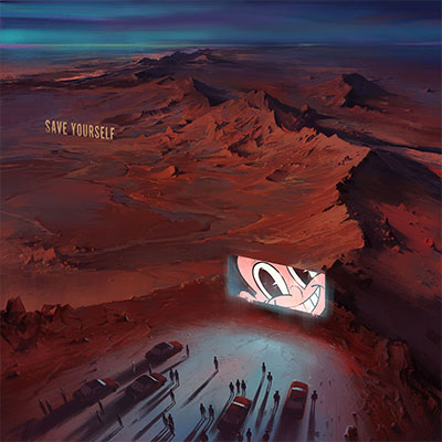 The 10 Best Album Cover Artworks of 2016: 02. SBTRKT - SAVE YOURSELF