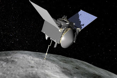 A 7 year mission to asteroid bennu that said to be on a collision course with earth