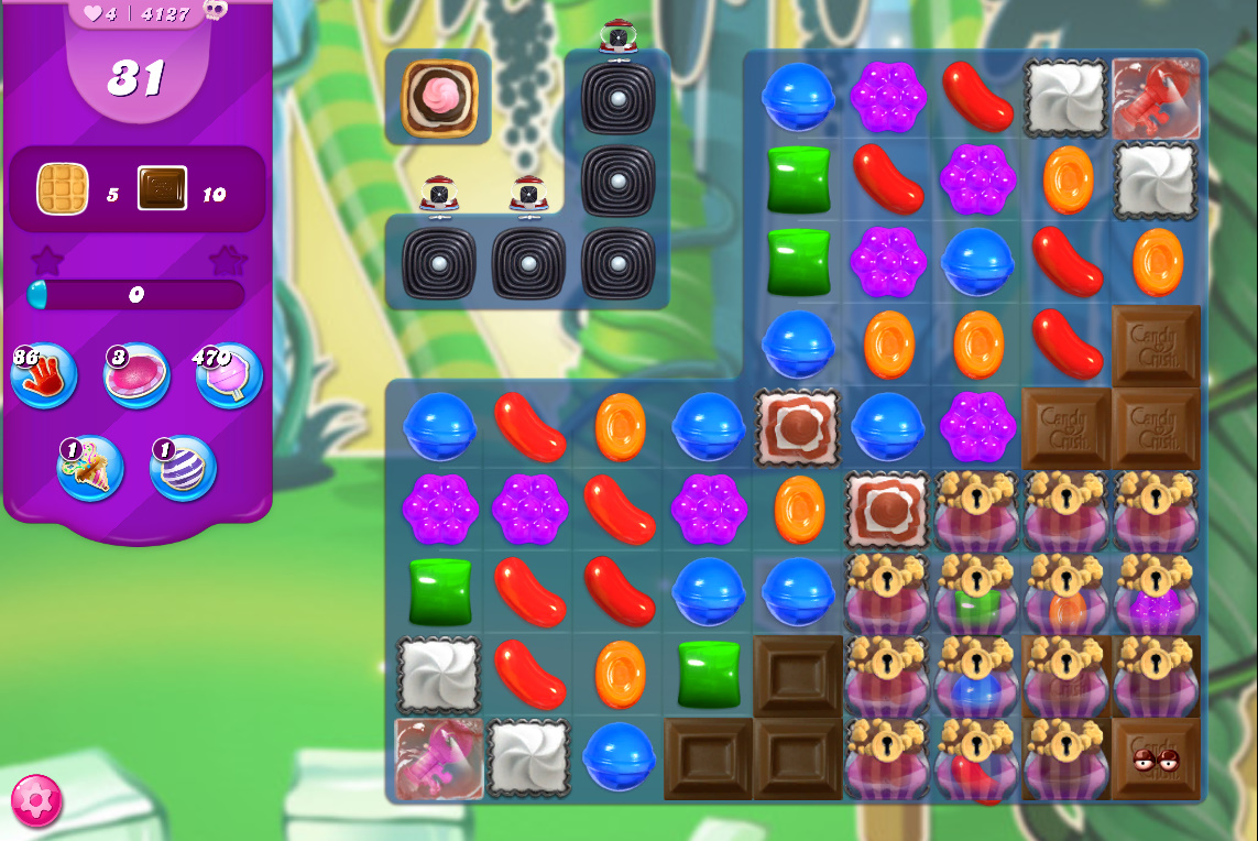 Candy Crush Saga level 4127