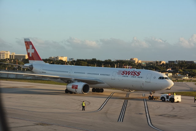 Swiss airlines Miami