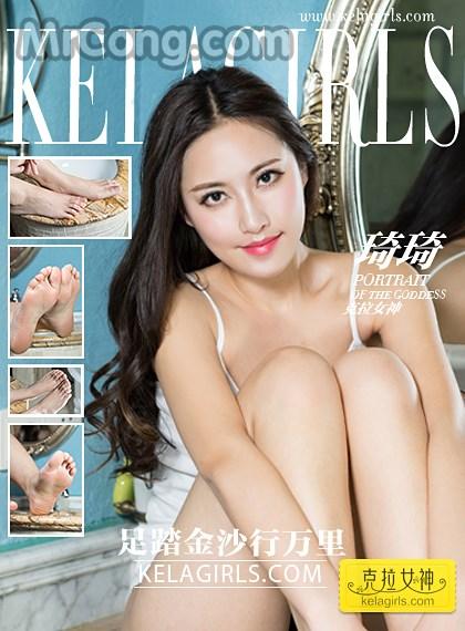KelaGirls 2017-04-08: Người mẫu Qi Qi (琦琦) (22 ảnh)