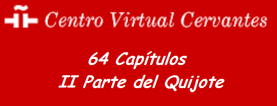 II Parte del Quijote