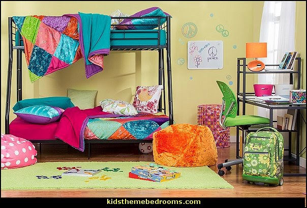 color your world-colorful teens bedrooms fun and funky - cute and colorful  - chic and trendy decorating ideas - unique decor - girls bedroom decor - colorful decor - colorful bedrooms - decorating with color